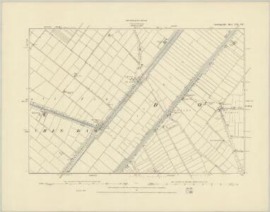 Cambridgeshire XXI.SW - OS Six-Inch Map