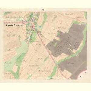 Gross Augezd - m3340-1-006 - Kaiserpflichtexemplar der Landkarten des stabilen Katasters