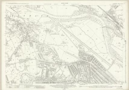 Glamorgan XLIII.10 (includes: Cardiff) - 25 Inch Map
