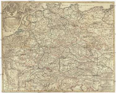 Neu-vermehrte Post-Charte durch gantz Teutschland nach Italien, Franckreich, Niederland, Preußen, Polen, und Ungarn etc