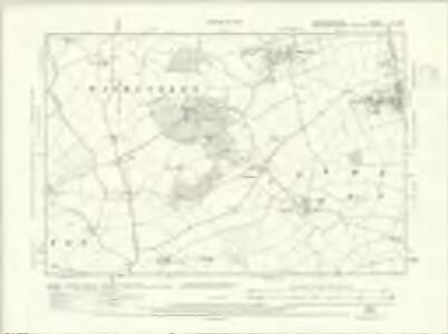 Huntingdonshire IX.NW - OS Six-Inch Map