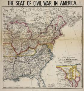 The Seat of Civil War in America.