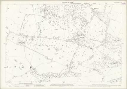 Kent XLIV.1 (includes: Frinsted; Lenham; Milstead) - 25 Inch Map