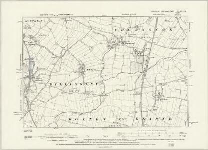 Yorkshire CCLXXV.SW - OS Six-Inch Map
