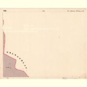 Moldau Ober - c2176-1-008 - Kaiserpflichtexemplar der Landkarten des stabilen Katasters