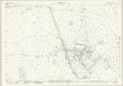 Staffordshire L.13 (includes: Brewood) - 25 Inch Map
