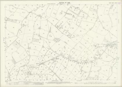 Kent LXIII.16 (includes: Bethersden; High Halden; Smarden) - 25 Inch Map