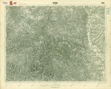 III. vojenské mapování 4466
