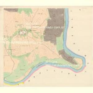 Prabsch - c8779-1-010 - Kaiserpflichtexemplar der Landkarten des stabilen Katasters