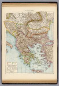 Balkanhalbinsel.