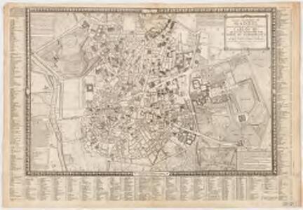 Plano geométrico de Madrid : dedicado y presentado al rey nuestro Señor Don Carlos III por mano del excelentisimo Señor Conde de Floridablanca