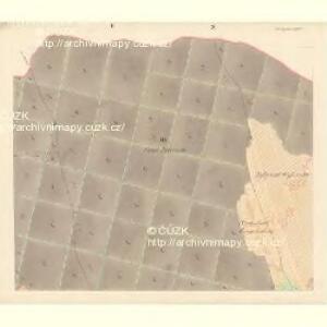 Unter Bojanowitz - m0481-1-003 - Kaiserpflichtexemplar der Landkarten des stabilen Katasters