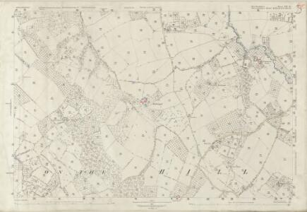 Herefordshire VIII.14 (includes: Little Hereford; Middleton On The Hill; Tenbury) - 25 Inch Map