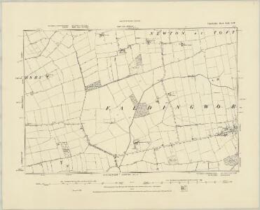 Lincolnshire LIII.SE - OS Six-Inch Map