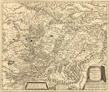 Nova Transilvaniae Principatus Tabula. Novissima descriptia editia