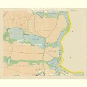 Drahonitz (Drahonice) - c1495-1-004 - Kaiserpflichtexemplar der Landkarten des stabilen Katasters
