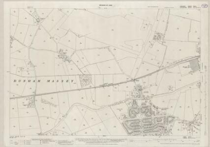 Cheshire XVIII.1 (includes: Altrincham; Dunham Massey) - 25 Inch Map