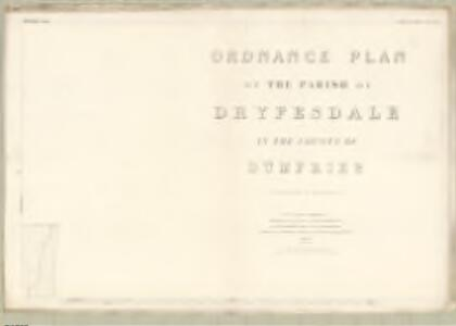Dumfries, Sheet XLIII.7 (Dryesdale) - OS 25 Inch map
