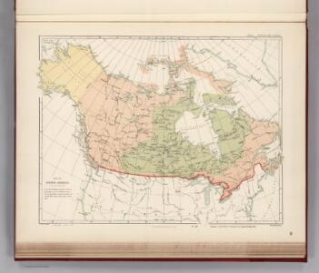Facsimile:  Hudsons Bay Company Map of North America.