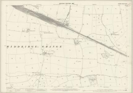 Durham XLII.16 (includes: Heighington; Shildon) - 25 Inch Map