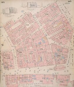 Insurance Plan of London Vol. VIII: sheet 185