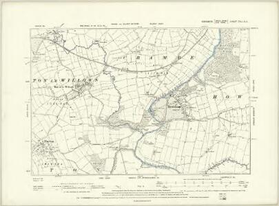 Yorkshire CXXIX.NW - OS Six-Inch Map