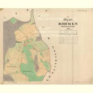 Haag - c9070-1-002 - Kaiserpflichtexemplar der Landkarten des stabilen Katasters