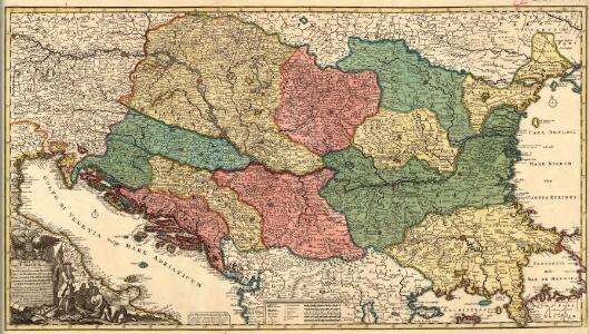 Novissima Tabula Regni Hungariae et Regionum quondam ei unitarum