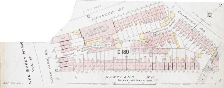 Insurance Plan of London North West District Vol. C: sheet 23-3