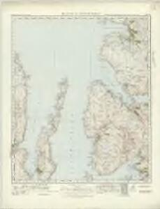 Raasay  & Applecross (25) - OS One-Inch map