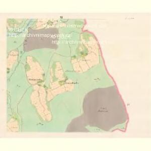 Lomna (Lomno) - m0508-1-010 - Kaiserpflichtexemplar der Landkarten des stabilen Katasters