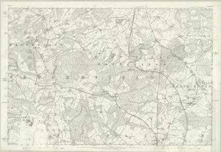Sussex XLIII - OS Six-Inch Map