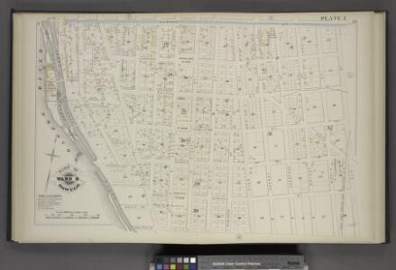 Part of Ward 8. [Plate I.]