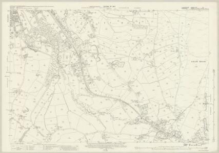 Lancashire CV.12 (includes: Dukinfield; Hyde; Stalybridge) - 25 Inch Map