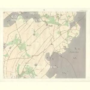 Gross Aurzim (Welky Auřim) - c8466-1-010 - Kaiserpflichtexemplar der Landkarten des stabilen Katasters