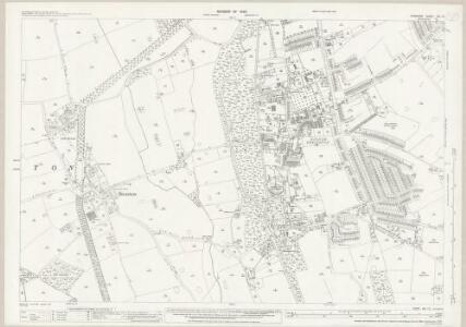 Cheshire XIII.15 (includes: Bebington and Bromborough; Brimstage; Storeton) - 25 Inch Map