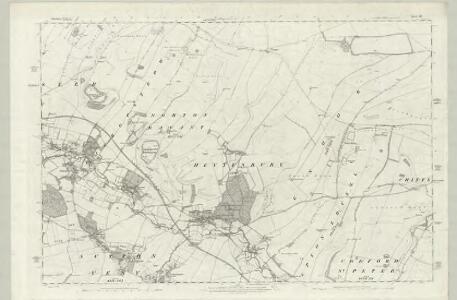 Wiltshire XLVII - OS Six-Inch Map