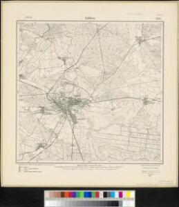 Meßtischblatt 2251 : Lübben, 1912