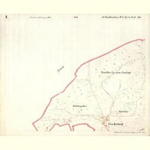Sct. Katharina - c7582-1-002 - Kaiserpflichtexemplar der Landkarten des stabilen Katasters