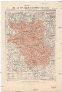 Generální mapa okresního hejtmanství Plzeňského