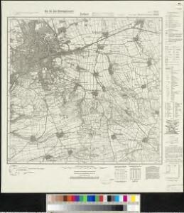 Meßtischblatt 2933, neue Nr. 5032 : Erfurt, 1936