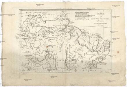 Brésil et pays des Amazones