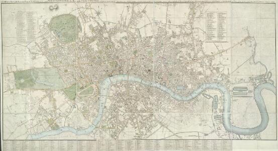 CARY'S New and Accurate Plan of LONDON AND WESTMINSTER, the Borough of SOUTHWARK and parts adjacent 221