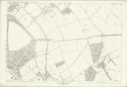 Bedfordshire XXV.1 (includes: Eversholt; Husborne Crawley; Ridgmont; Steppingley; Woburn) - 25 Inch Map