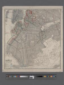 Map of Brooklyn.