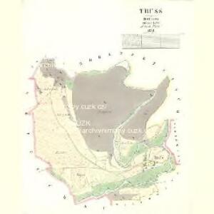 Truss - c8271-1-001 - Kaiserpflichtexemplar der Landkarten des stabilen Katasters