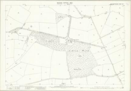 Northamptonshire XIX.7 (includes: Ashton; Lutton; Polebrook; Tansor; Warmington) - 25 Inch Map