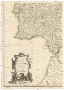 Neueste Generalkarte von Portugal und Spanien