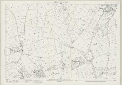 Somerset XXVI.12 (includes: Chapel Allerton; Weare; Wedmore) - 25 Inch Map