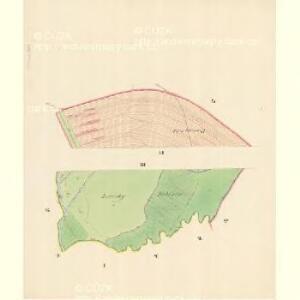 Liederzowitz - m1550-1-003 - Kaiserpflichtexemplar der Landkarten des stabilen Katasters